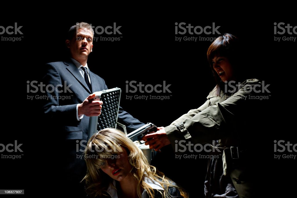 Ransom Delivery stock photo