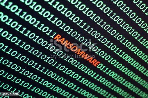 istock Ransom Software 492752984