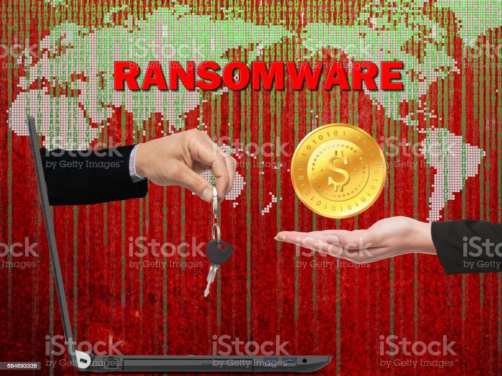 ransomware royalty-free stock photo