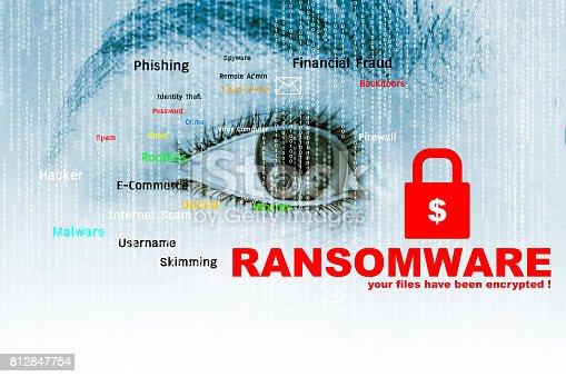 istock Ransomware 812847754