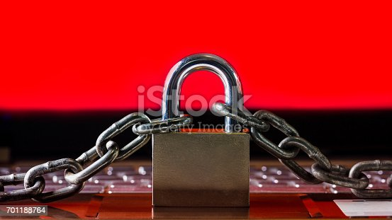 812847754 istock photo Ransomware,Malware,Encrypt and Hacking Conceptual with Padlock. 701188764