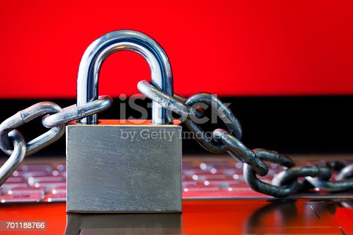 812847754 istock photo Ransomware,Malware,Encrypt and Hacking Conceptual with Padlock. 701188766
