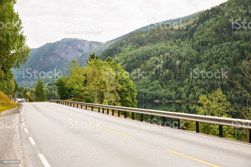 Raod in the rural place stock photo