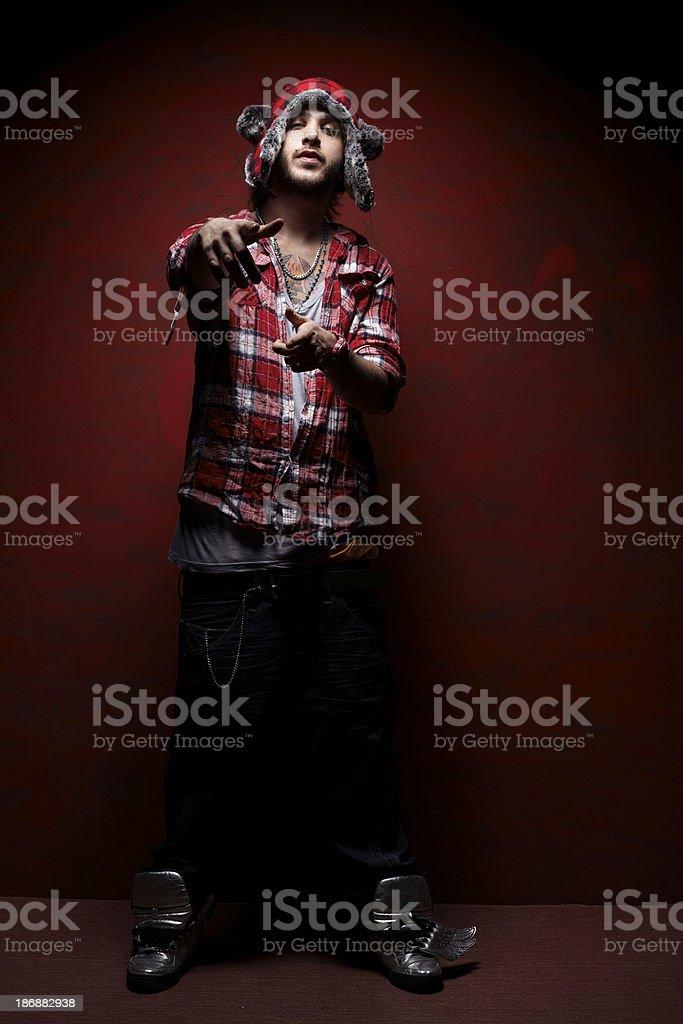 rap style royalty-free stock photo