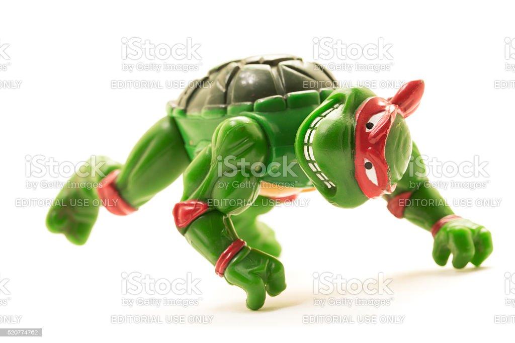 Raphael Of The Teenage Mutant Ninja Turtles Stock Photo Download