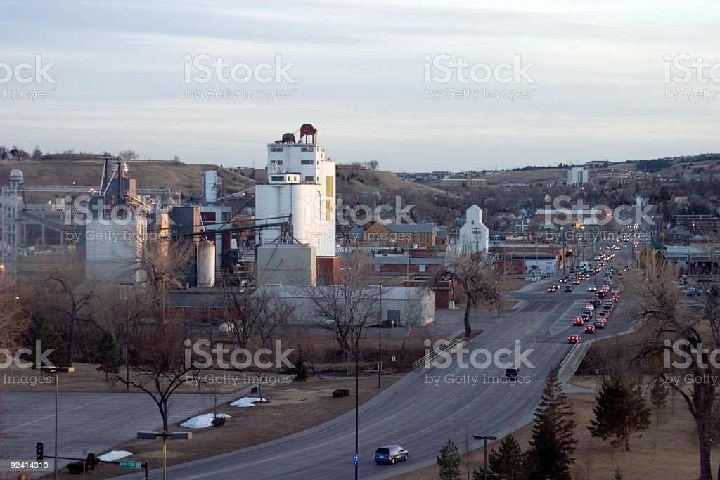 Rapid City Skyline royalty-free stock photo
