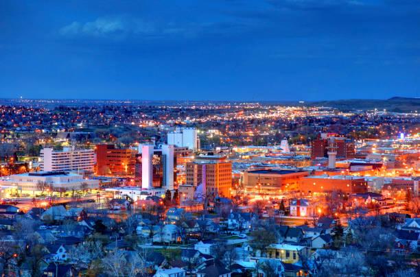 Rapid City, South Dakota stock photo