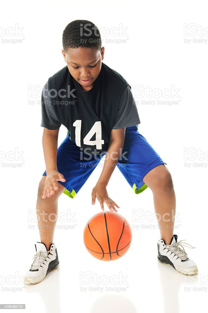 Rapid Fire Dribble stock photo
