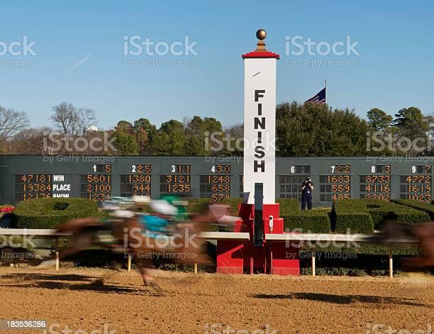 Rapid motion photo of horses at a race track finish line picture id183536286?b=1&k=6&m=183536286&s=612x612&h=7d x1wrctlesgiigyacz2x2xgvn2gqc 5d xddzicus=