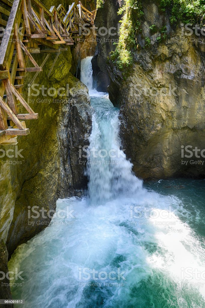 rapid mountain  brook - Royalty-free Clean Stock Photo