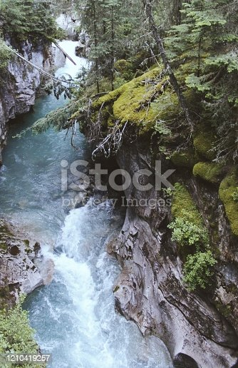 820775686 istock photo Rapid river 1210419257
