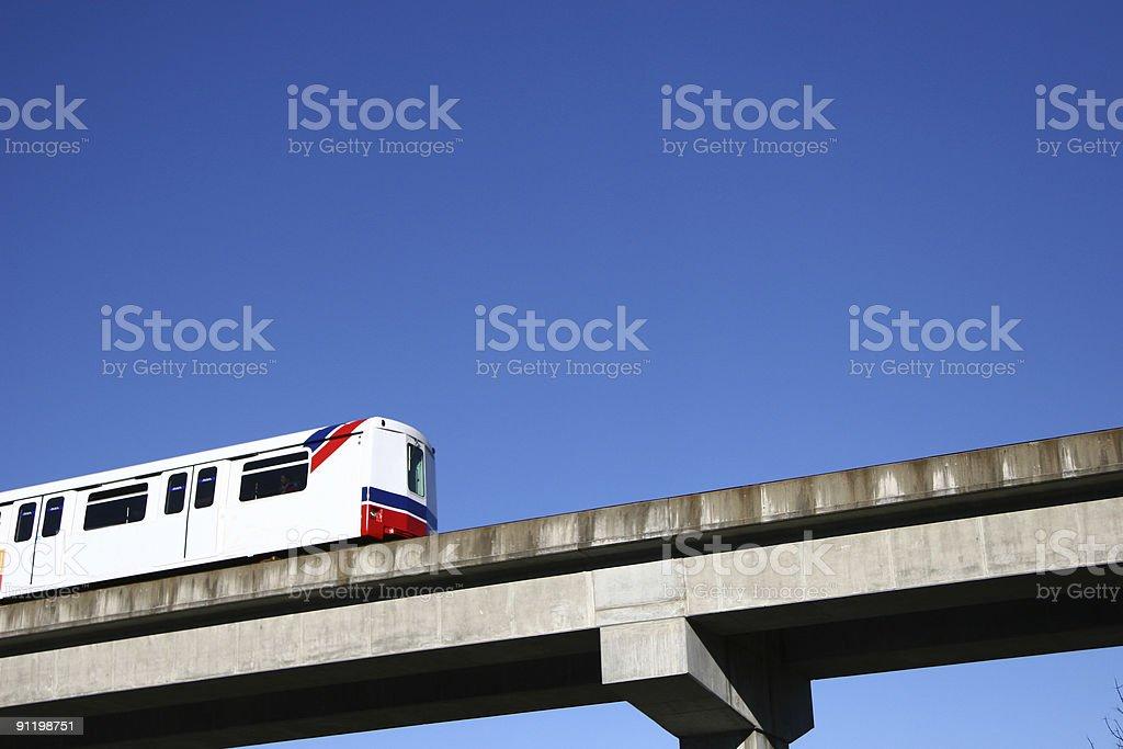Rapid Transit royalty-free stock photo