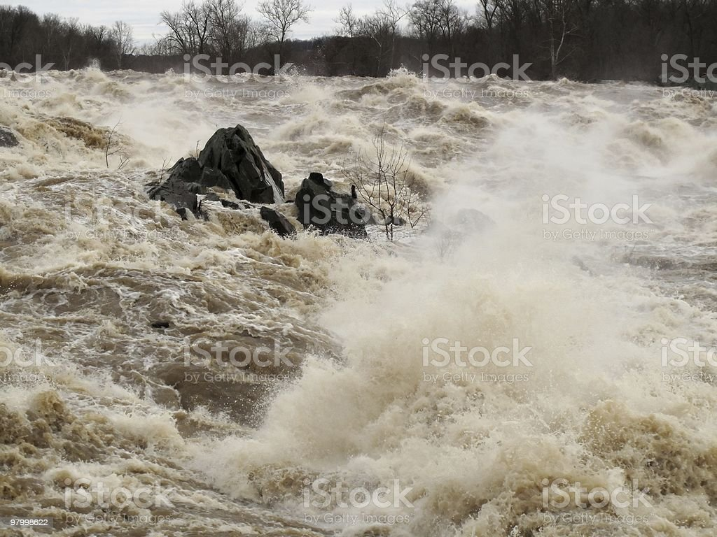 Rapids After the Snow Melt royalty-free stock photo