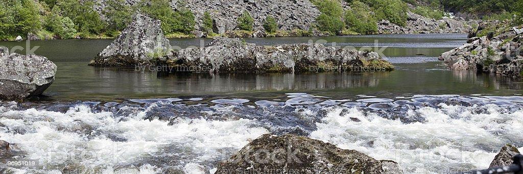 Rapids Zone royalty-free stock photo