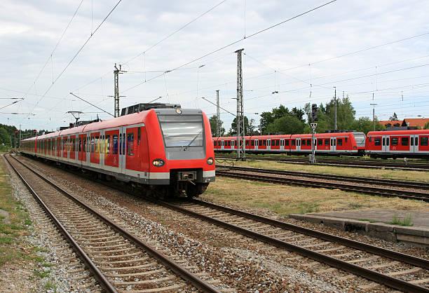 rapid-transit railway - munich train station bildbanksfoton och bilder