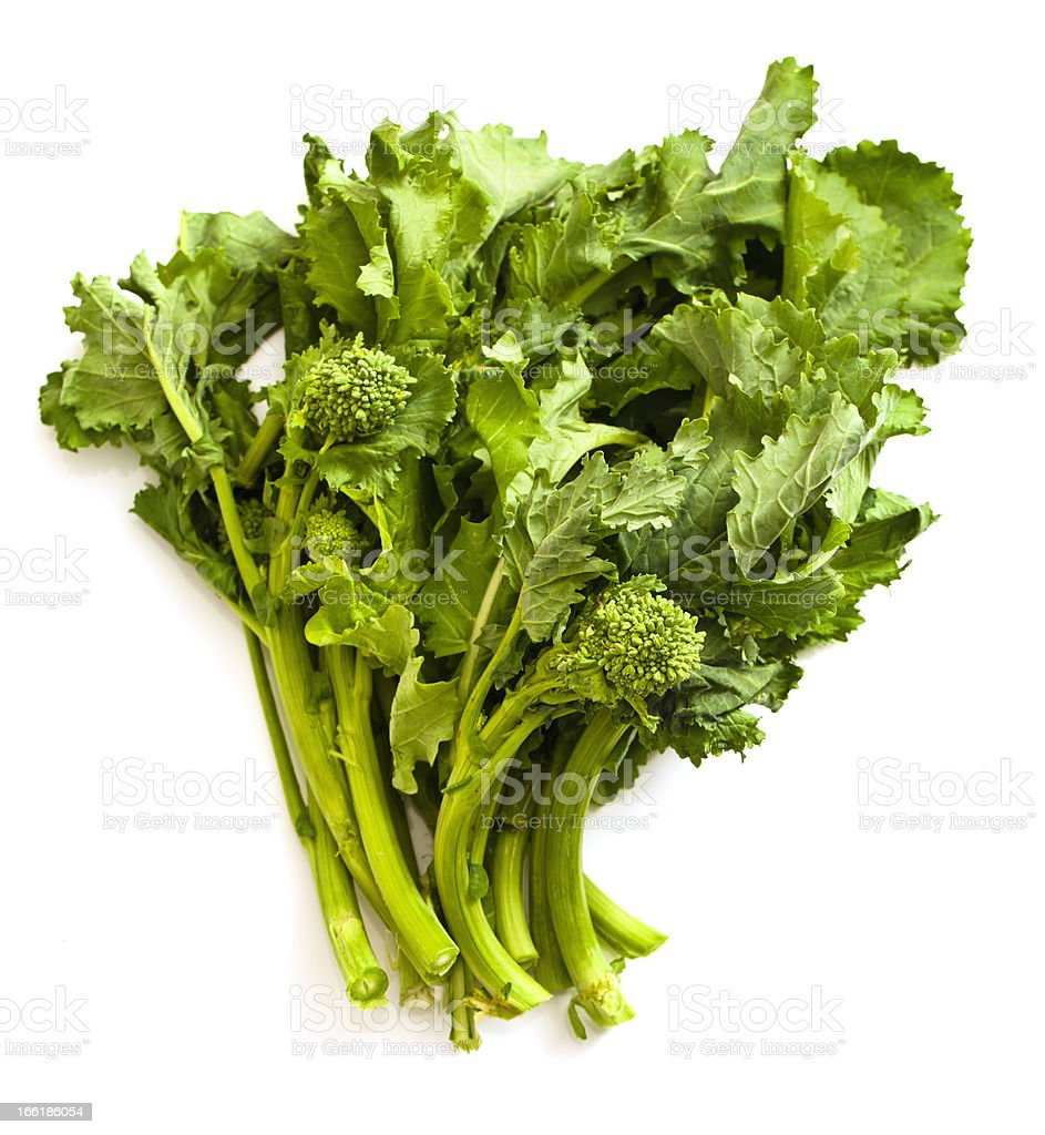 Rapini or Broccoli Raab stock photo