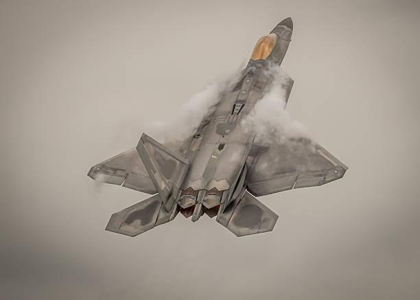 f - 22 랩터 전투기 항공기 - 육식조 뉴스 사진 이미지