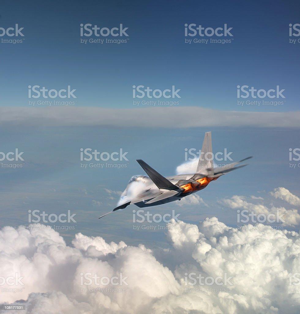 F22 Raptor royalty-free stock photo