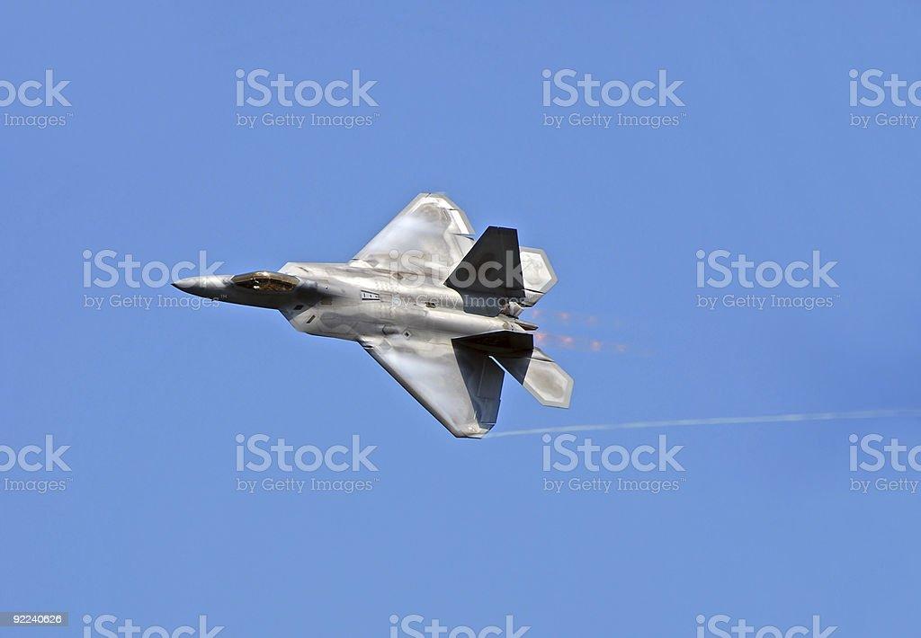 F-22 Raptor royalty-free stock photo
