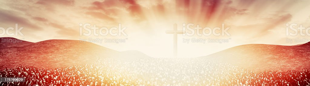 Rapture day stock photo