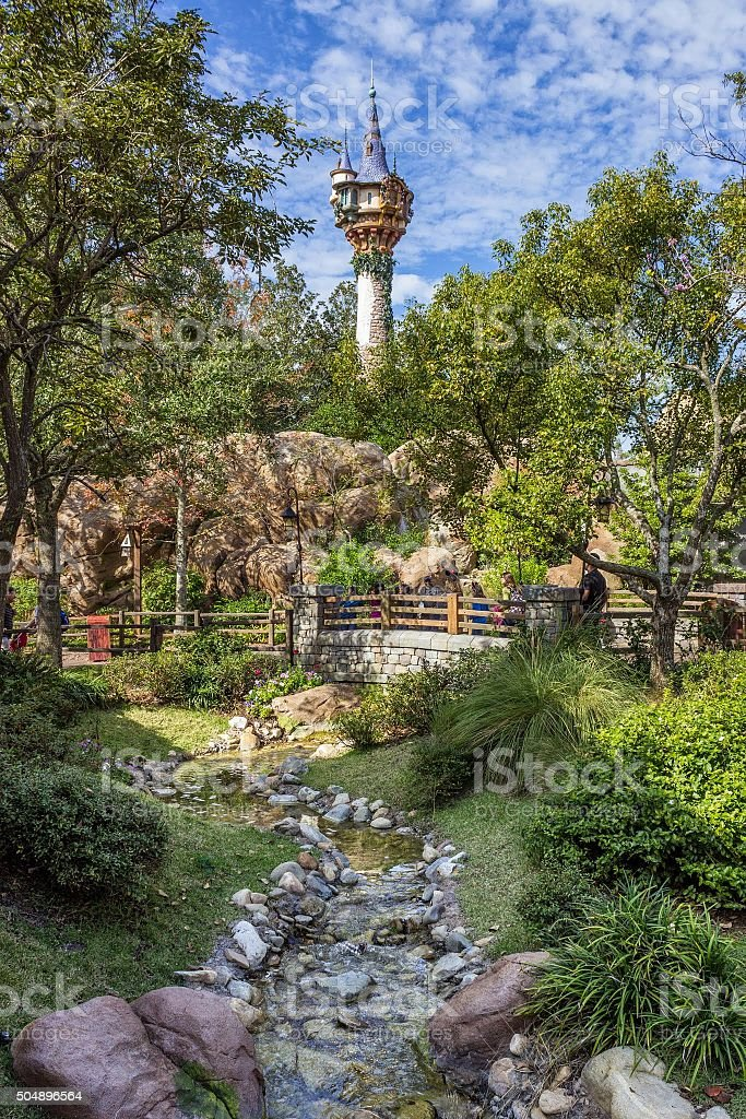 Rapunzel's Tower stock photo