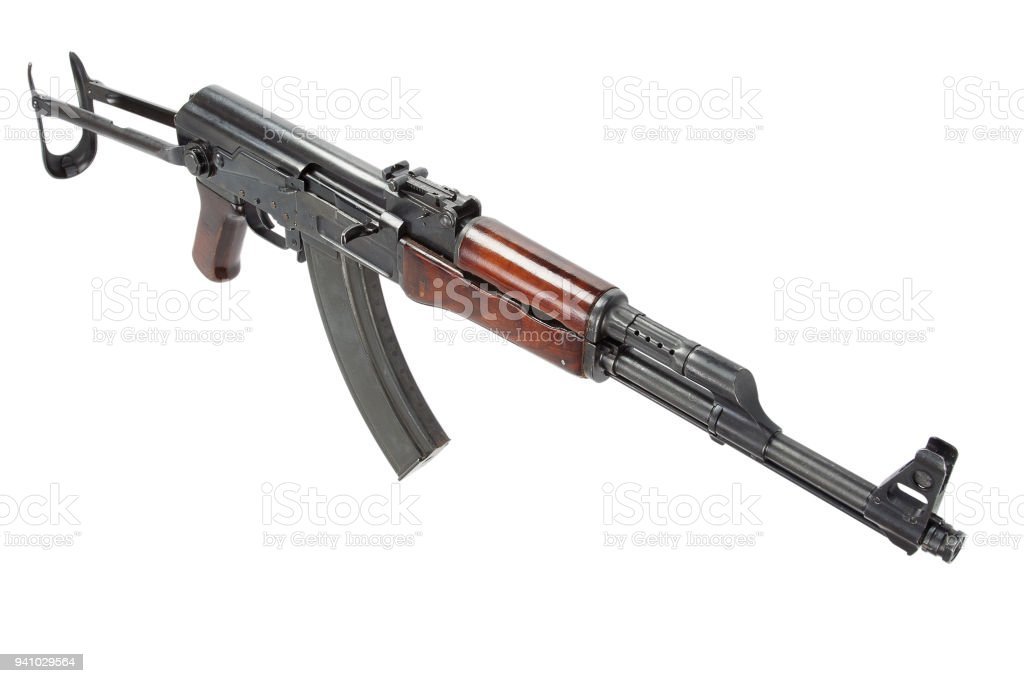 6b166887e Rare First Model Ak 47 Assault Rifle Stock Photo & More Pictures of ...