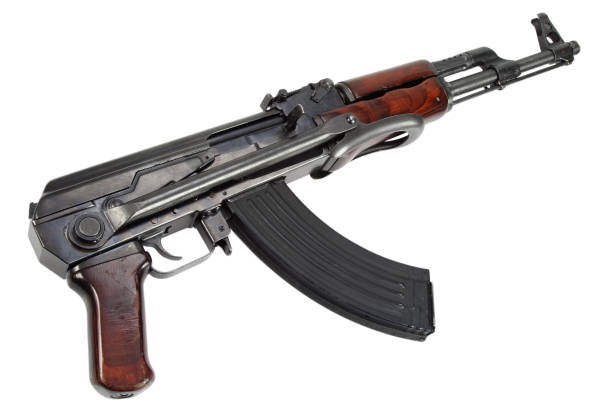 Rare model from 1954 assault rifle stock photo