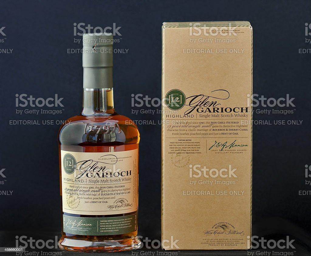 Rare Scotch Whisky stock photo