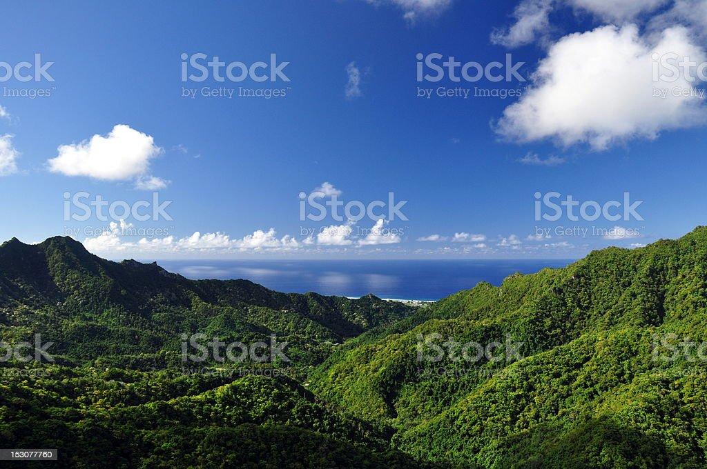 Rarotonga, Cook Islands stock photo
