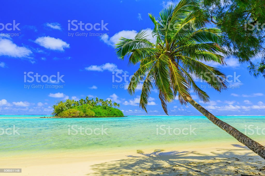 Rarotonga, Cook Islands. stock photo