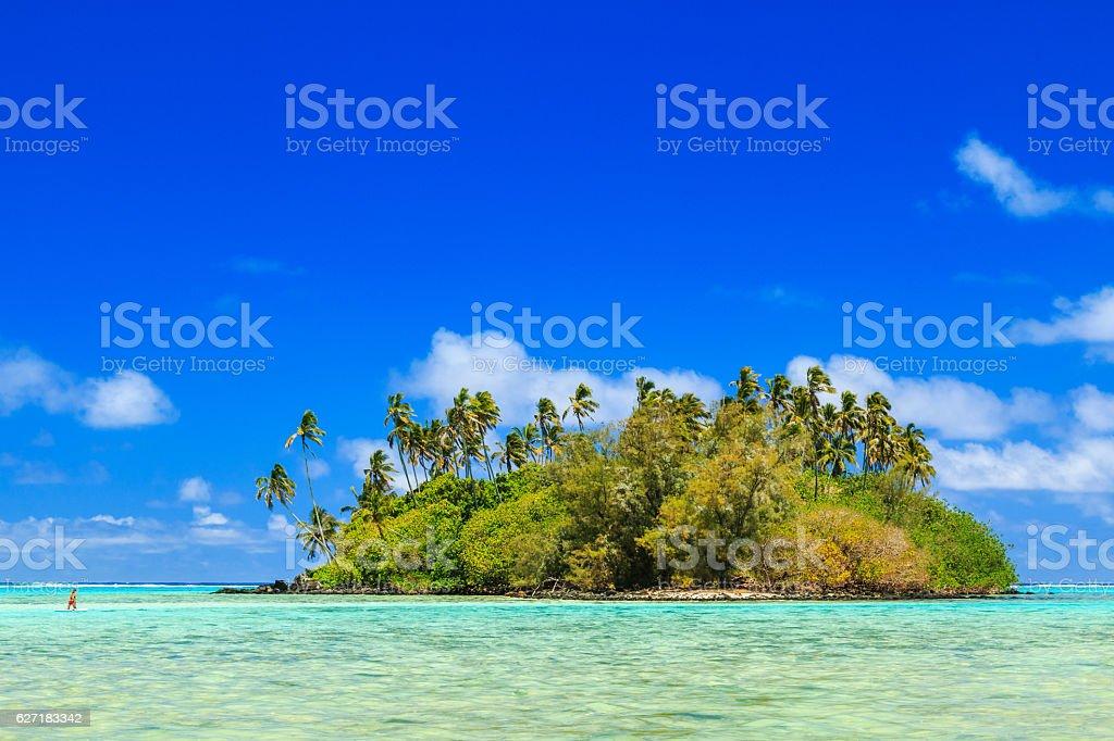Rarotonga, Cook Islands. stock photo