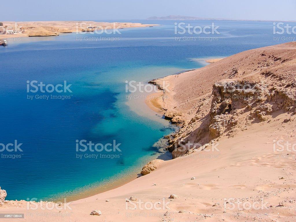Ras Mohammed Egypt stock photo