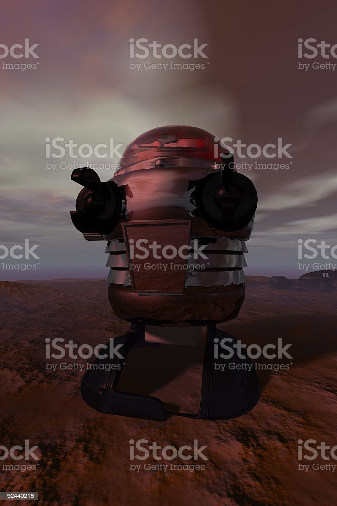 Rascal-Like Robot V1 royalty-free stock photo