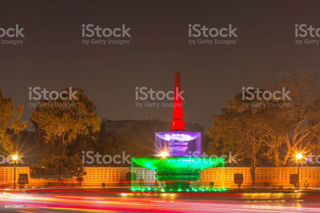 Rashtrapati Bhavan (President House) in New Delhi India stock photo