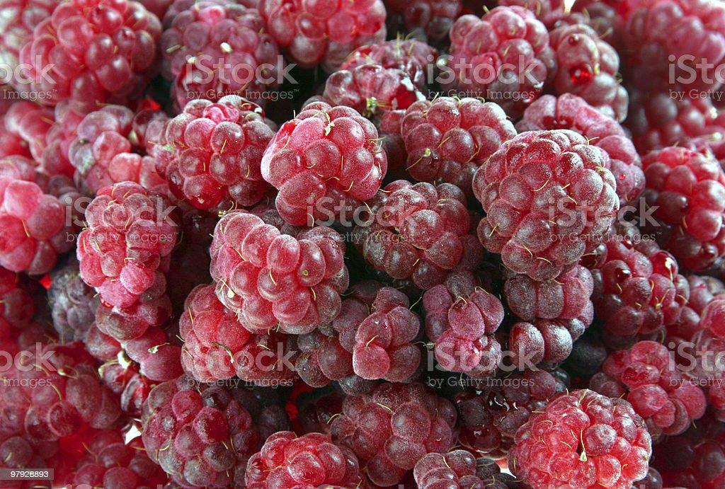 Raspberrie background royalty-free stock photo