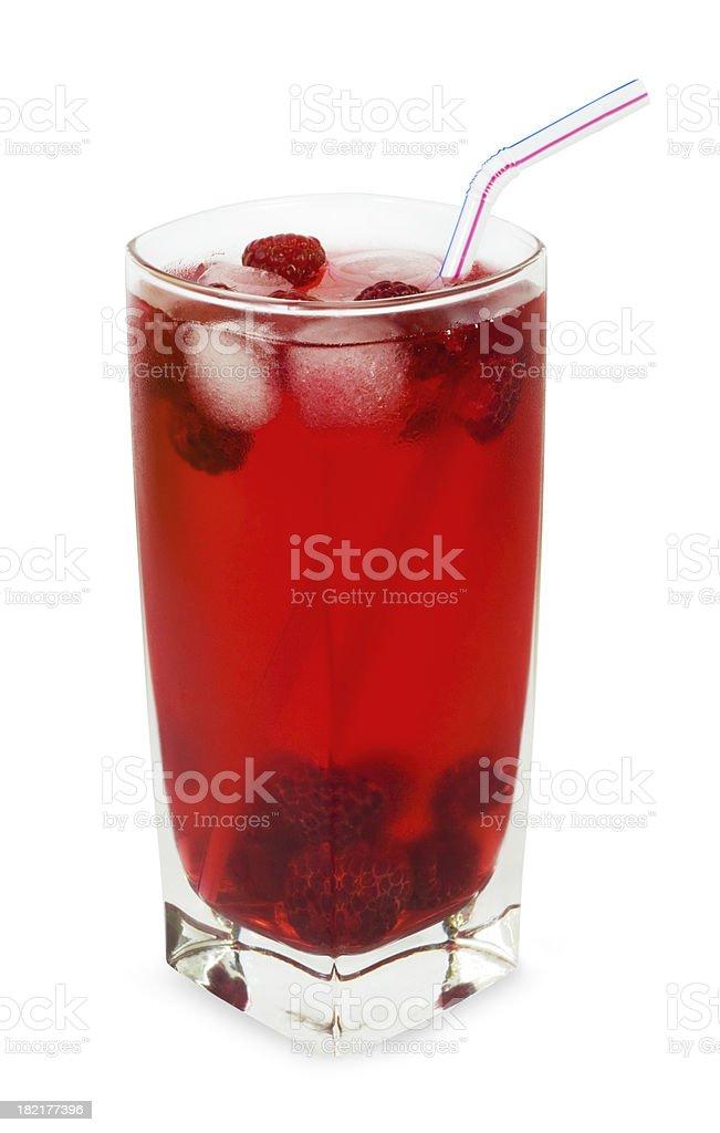 Raspberry drink royalty-free stock photo