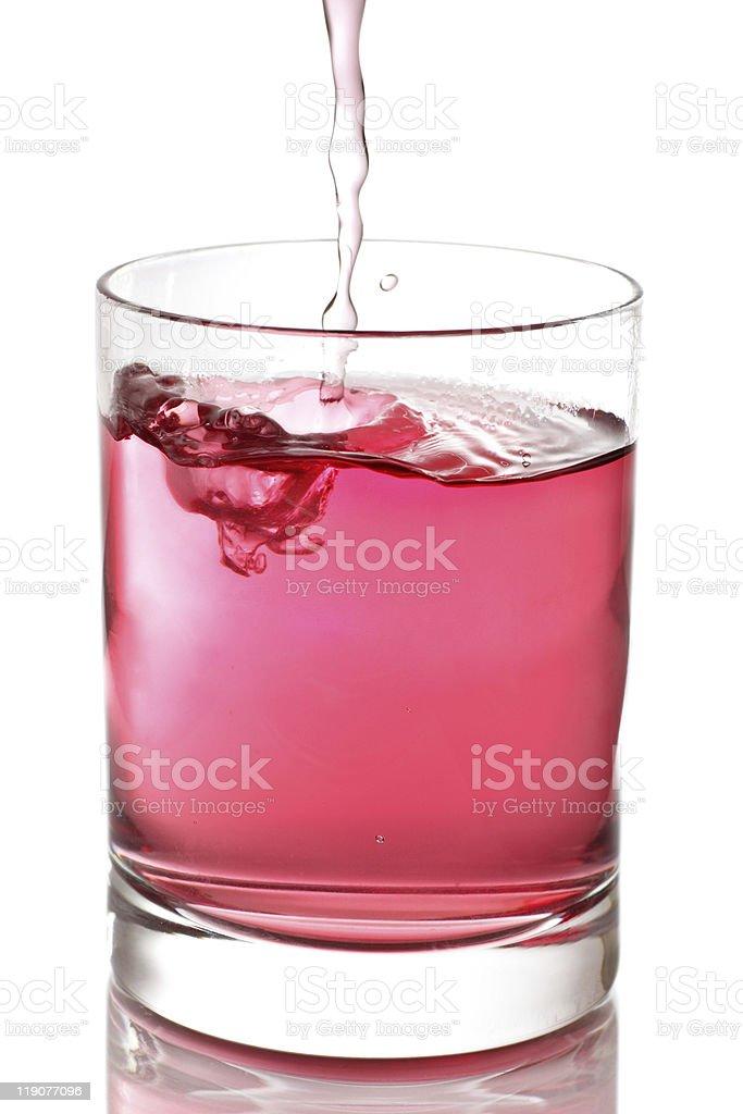 Raspberry flavoured tea stock photo