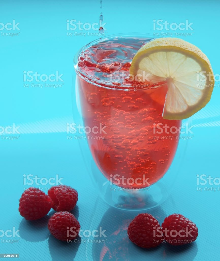 Raspberry Lemonade stock photo