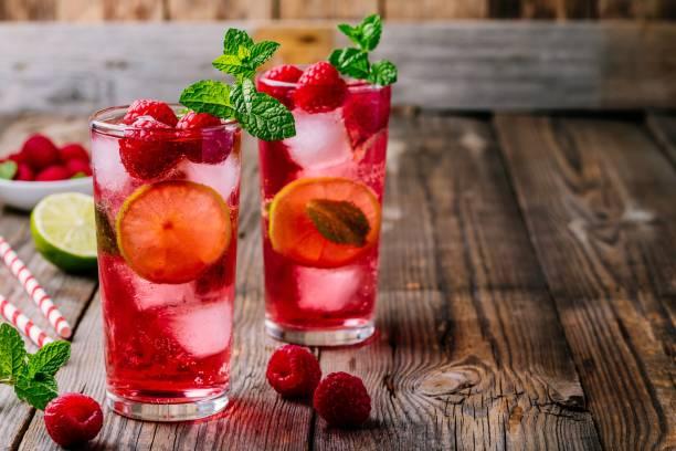 Raspberry mojito lemonade with lime and fresh mint in glass on wooden picture id975788016?b=1&k=6&m=975788016&s=612x612&w=0&h=2j8rhrnenmyqgmtmxzsiyxs9rcz5gk0fsdkildi8qvc=