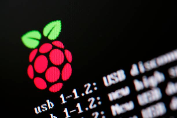 Raspberry Pi Operating System stock photo