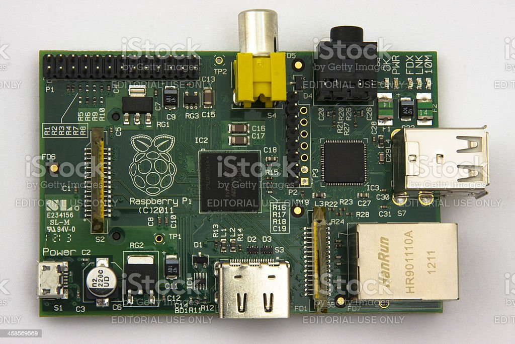 Raspberry PI stock photo