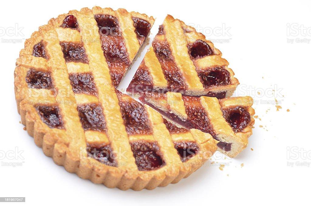 Raspberry Pie royalty-free stock photo