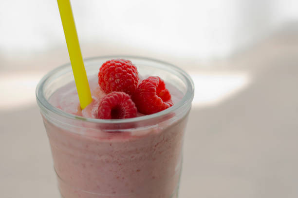 Raspberry Smoothie with Berries