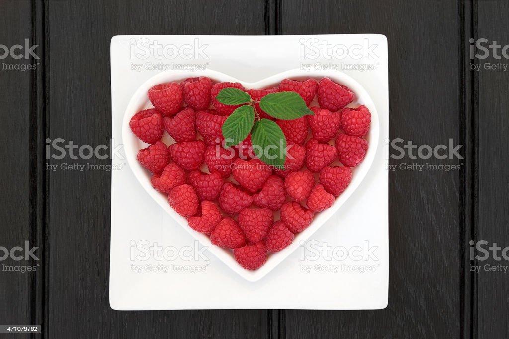 Raspberry Super Food stock photo