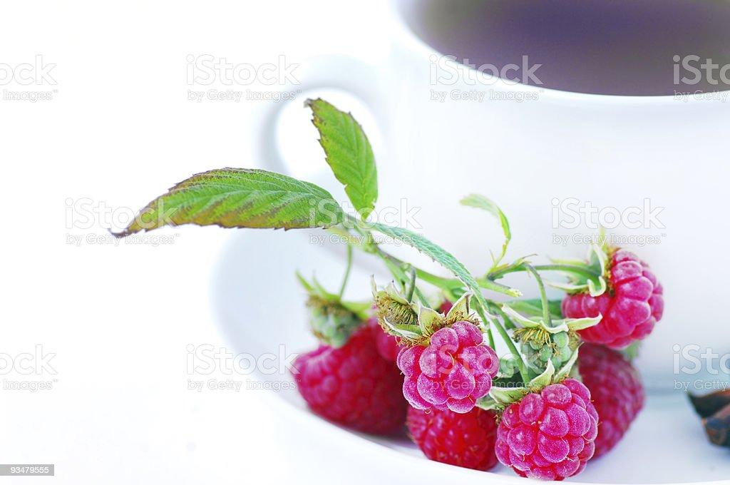 산딸기 티 - 로열티 프리 0명 스톡 사진