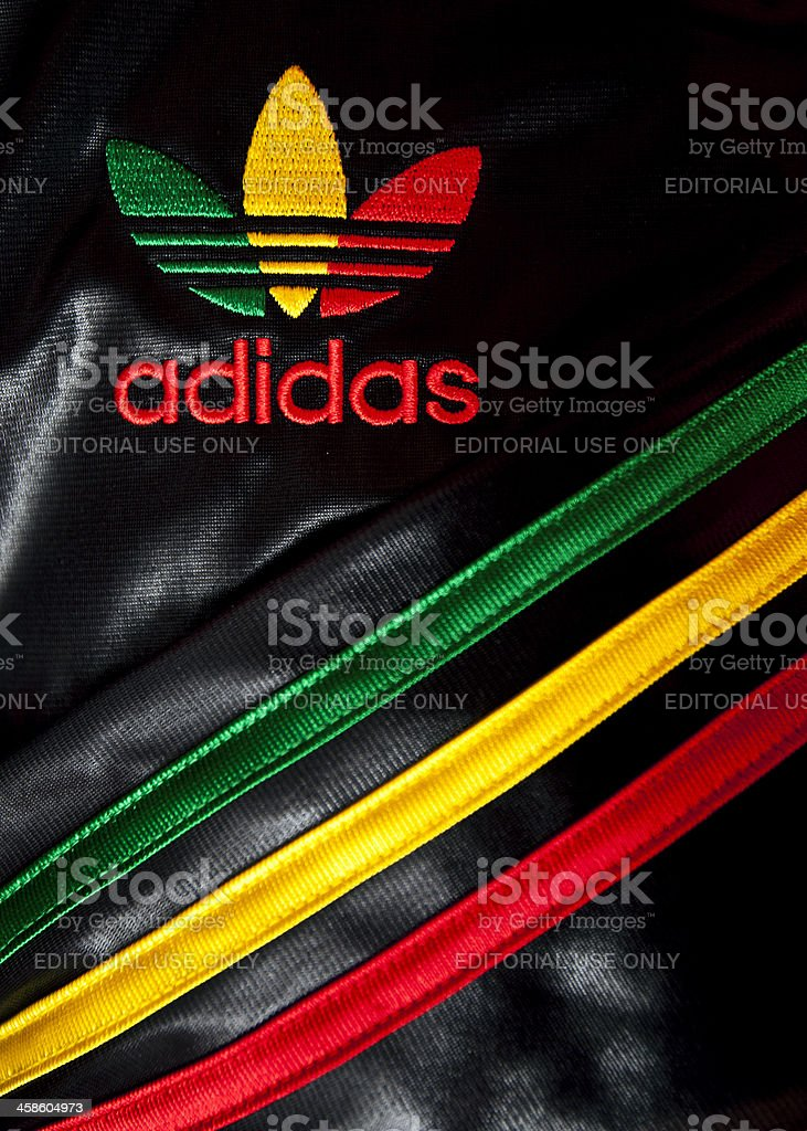 rasta adidas stock photo