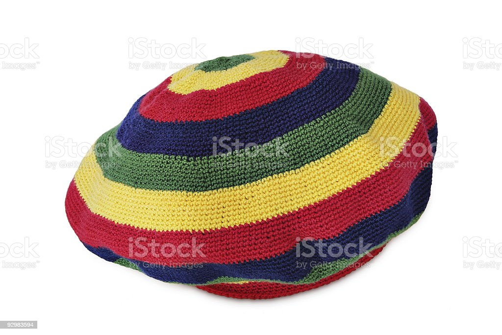 Rasta cap. stock photo