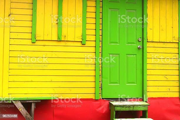Foto de Cores Rastafári Na Ilha Shackirie Seg e mais fotos de stock de Amarelo