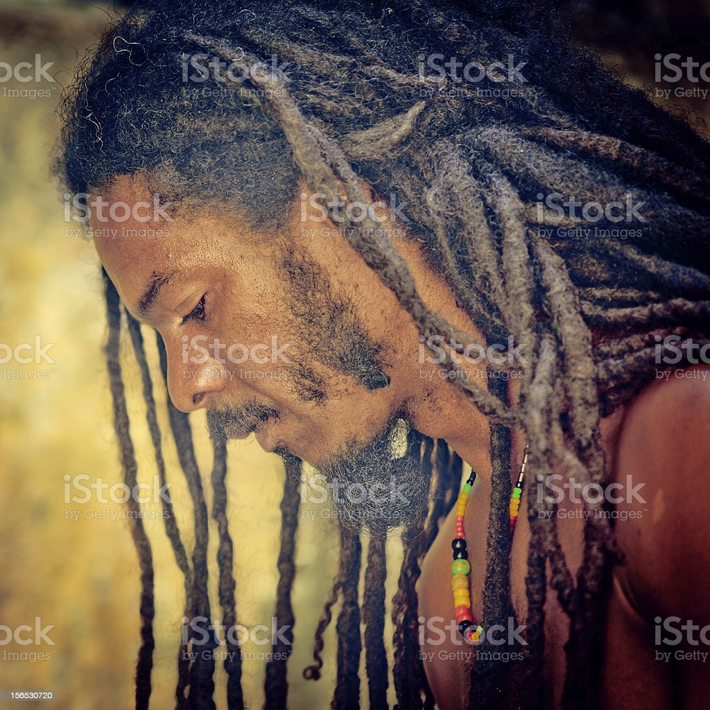 Rastafarian stock photo