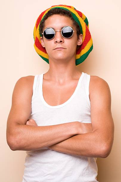 Rastaman stock photo